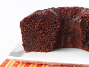 Bolo de Chocolate Zás-Trás