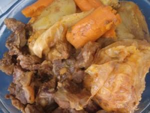 Cozido de Carne com Pirão