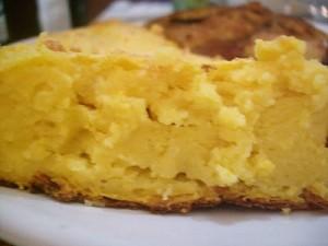 Torta Suflê de Legumes – Inhame e Cenoura