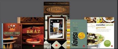 Bazar de Natal: Livros de Culinária