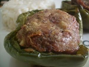 Pimentão Recheado com Carne Moída
