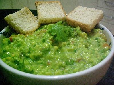 Guacamole, como me gusta comer!