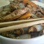 Frango Chinês Com Legumes em Tempos de Copa