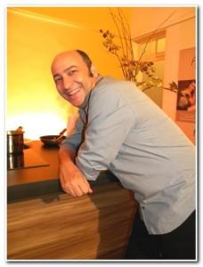 Bate papo com César Santos durante o Concurso Gastronômico