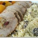 Receita Natalina: Carne Festiva com Farofa de Frutas