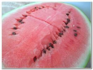 Dica para servir melancia