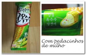 Sorvete Coreano de Milho