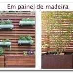 Horta na parede, solução para a falta de espaço.