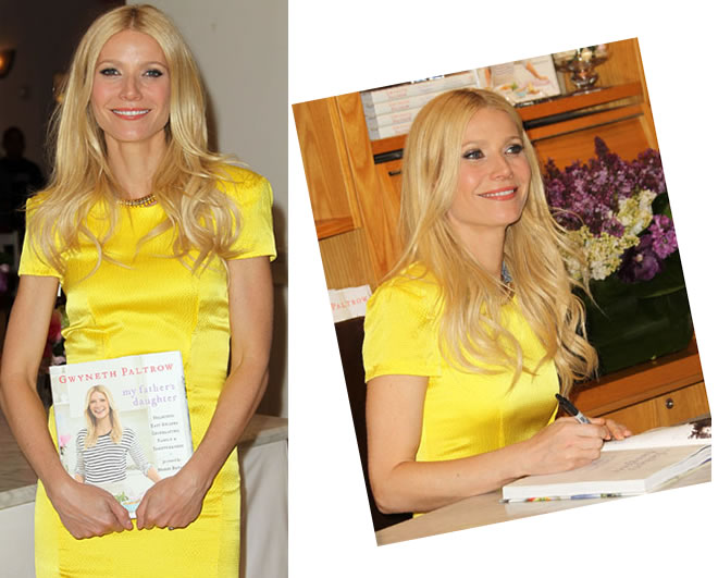 Gwyneth Paltrow lança livro de receitas