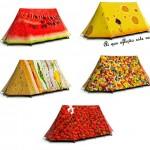 Barraca de camping para gourmand