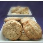 Amaretti de Castanha de Caju – Biscoitinho diliça
