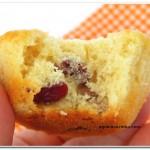 muffin de cranberries