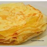 Panqueca – Receita básica sem glúten – Especial Dia Internacional dos Celíacos