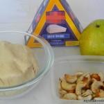 Pizza de queijo brie, pera, castanha e mel (2)