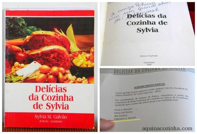 Delícias da Cozinha de Sylvia – Livro Culinário de Garanhuns