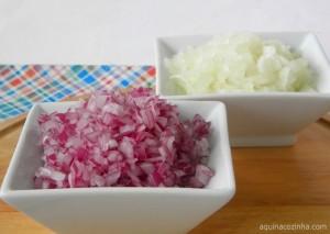 Como cortar cebola