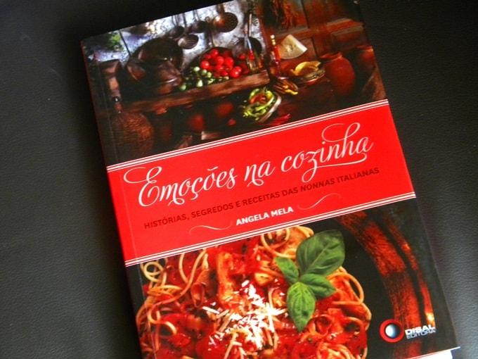 Emoções na Cozinha – Livro de Angela Mela