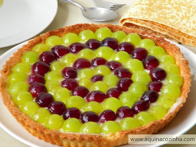 Torta de Guirlanda de uva