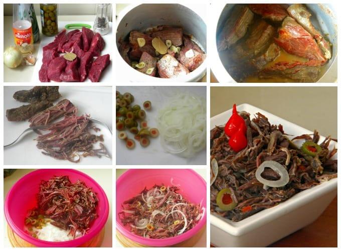 carne fria ou carne louca