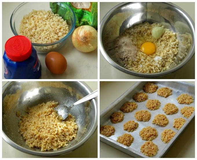 bolinho de arroz integral