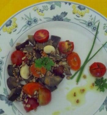 Refogado de Legumes com Semente de Girassol (vegetariano)