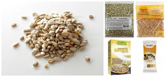 semente de girassol
