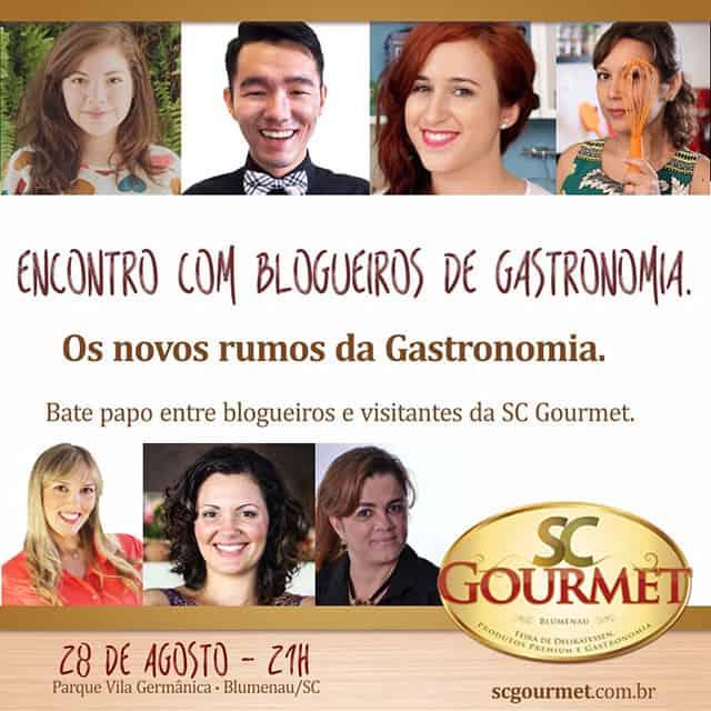 SC Gourmet 2015 – Estarei lá