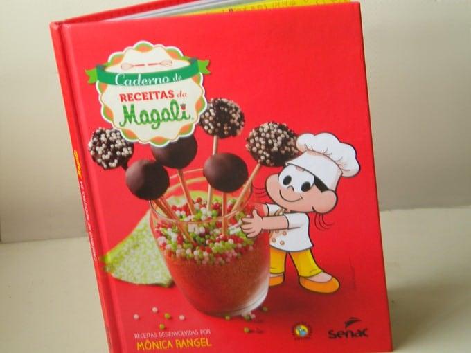 Livro Caderno de Receitas da Magali