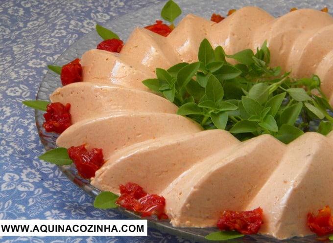 Mousse de Tomate Seco