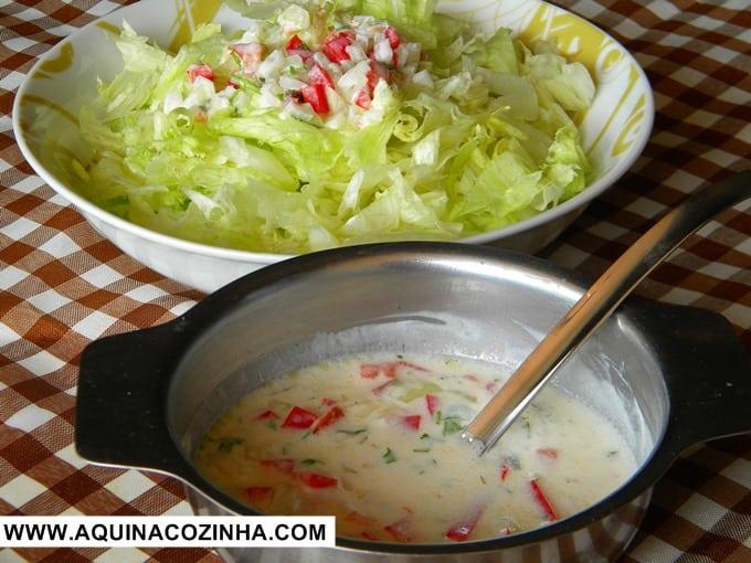 Molho de Iogurte (Leve e saudável)