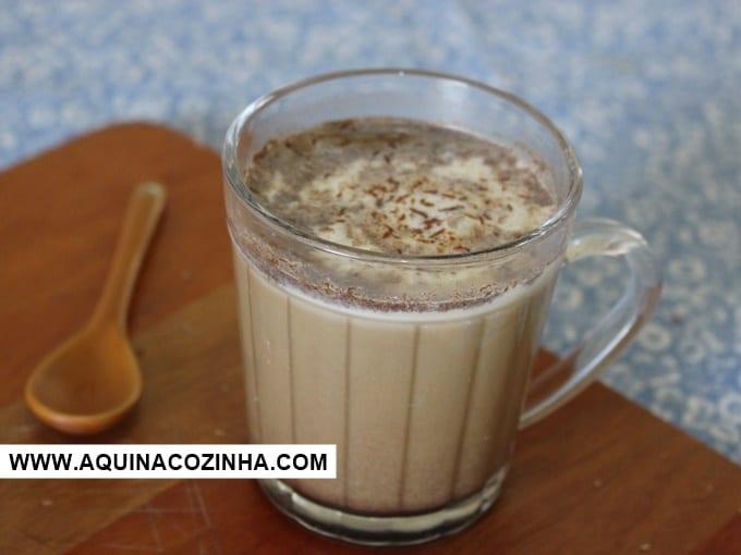 Mocha Latte Feito em Casa