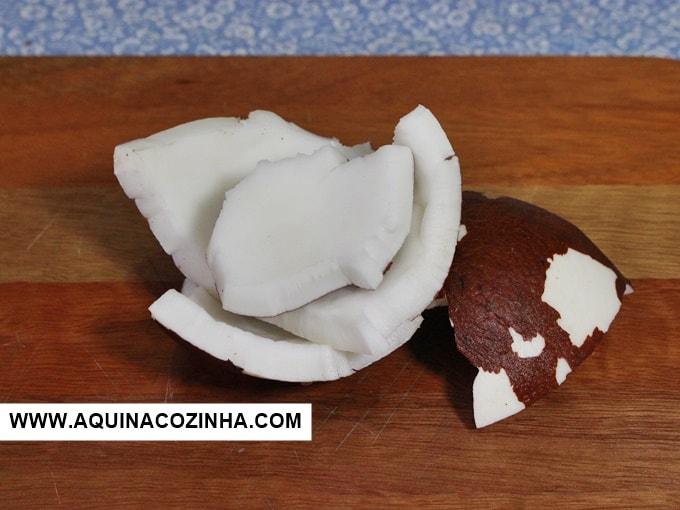 como conservar coco