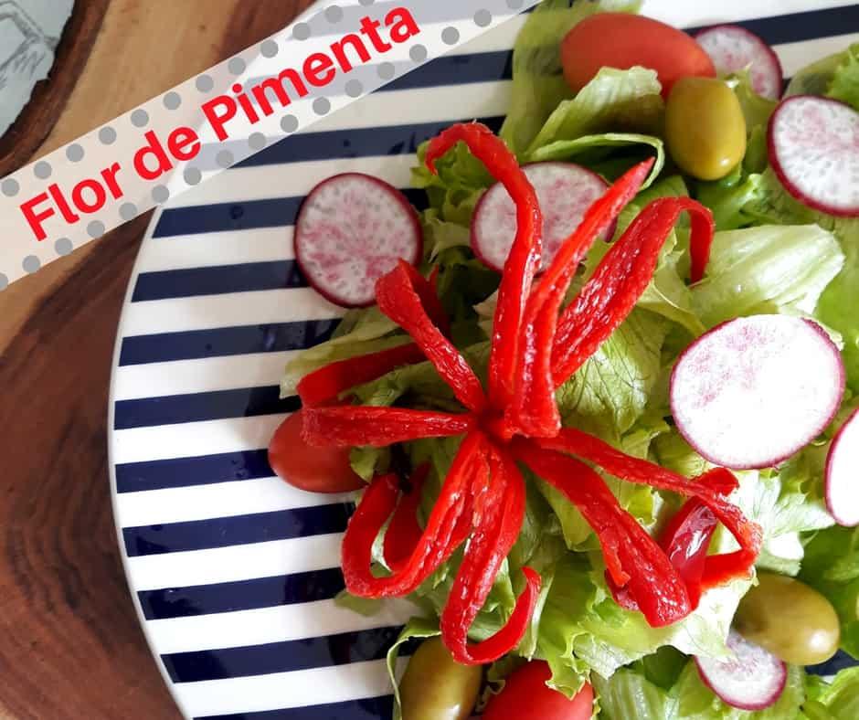 Flor de Pimenta – Tão linda e tão fácil de fazer