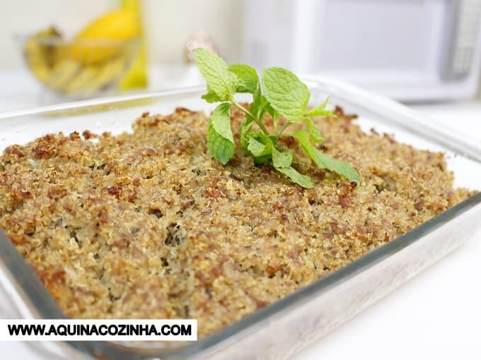 Kibe de Quinoa Assado